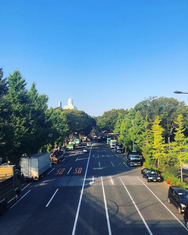 朝ランを楽しむ渋谷の景色|早朝ランニング