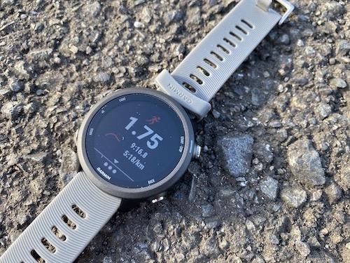 ランニング開始、GPSの補足精度とスピード|ForeAthlete 245